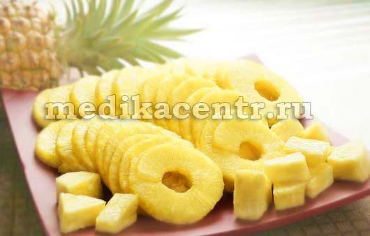диета ананасовая
