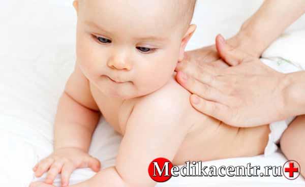 Польза массажа при гипертонусе грудничков