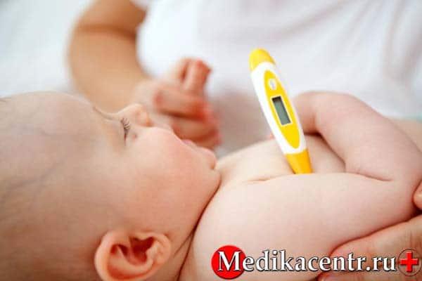 Как правильно сбивать температуру у ребенка