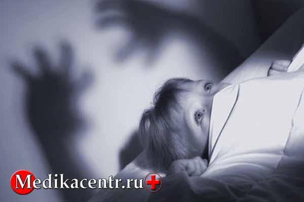 Причины ночных кошмаров у детей