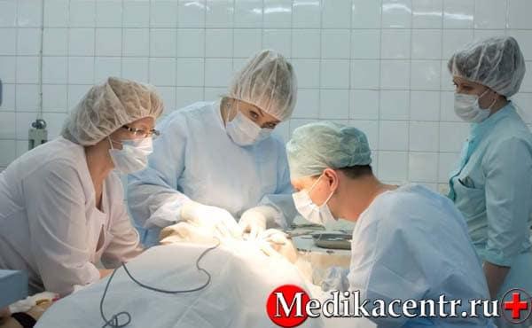 Хирургическое лечениеэрозии шейки матки